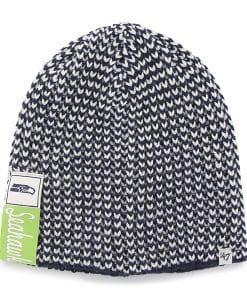 Seattle Seahawks Cynthia Beanie Light Navy 47 Brand Womens Hat