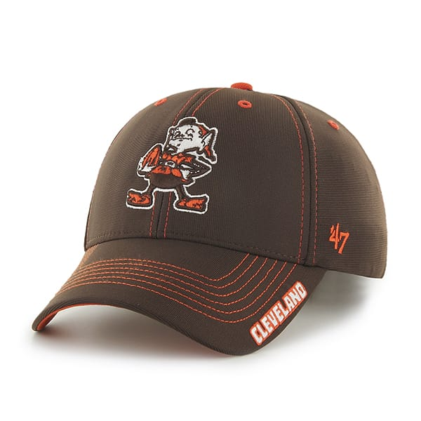 Cleveland Browns Dark Twig Brown 47 Brand Adjustable Hat