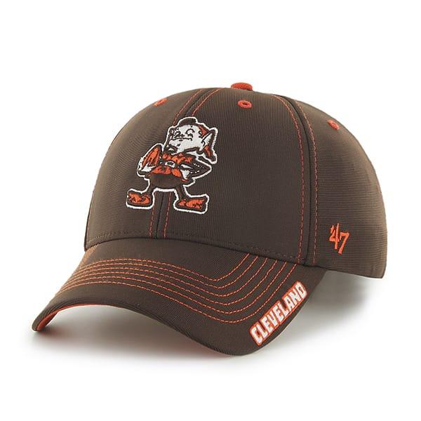 Cleveland Browns Dark Twig Brown 47 Brand Adjustable Hat