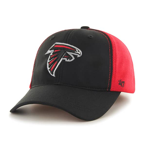 Atlanta Falcons Draft Day Closer Black 47 Brand Stretch Fit Hat