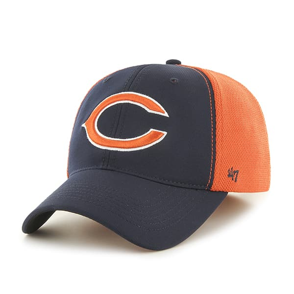 Chicago Bears Draft Day Closer Navy 47 Brand Stretch Fit Hat - Detroit Game  Gear a32e885ef8a