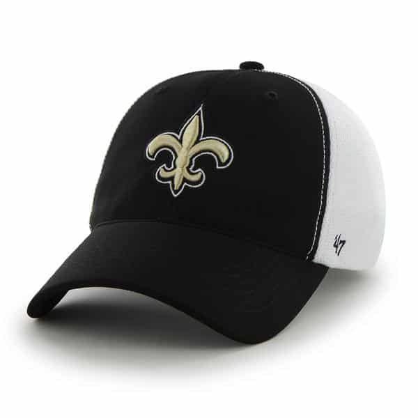 New Orleans Saints Draft Day Closer Black 47 Brand Stretch Fit Hat -  Detroit Game Gear 5388dcc0870
