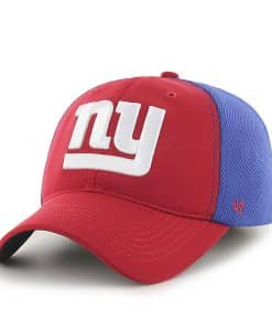 New York Giants Draft Day Closer Red 47 Brand Stretch Fit Hat c34e0bf0b