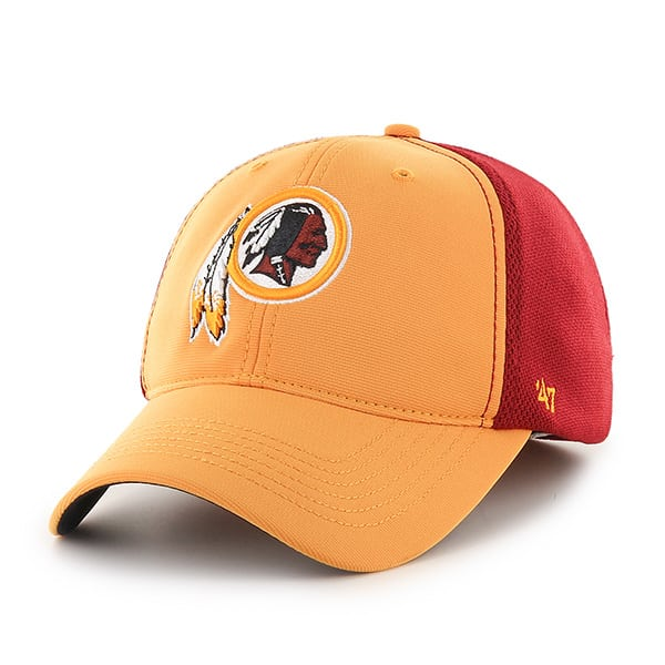 Washington Redskins Draft Day Closer Gold 47 Brand Stretch Fit Hat