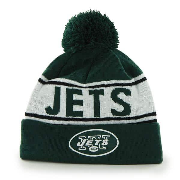New York Jets Mass Edmonton Dark Green 47 Brand Adjustable Hat