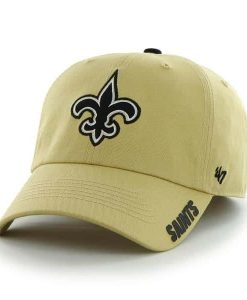 New Orleans Saints Elko Clean Up Light Gold 47 Brand Adjustable Hat