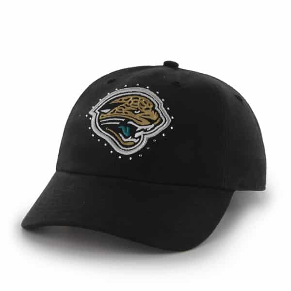 Jacksonville Jaguars Facet Clean Up Black 47 Brand Womens Hat