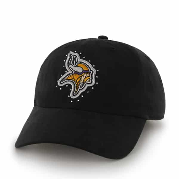 Minnesota Vikings Facet Clean Up Black 47 Brand Womens Hat
