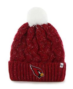 Arizona Cardinals Fiona Cuff Knit Dark Red 47 Brand Womens Hat