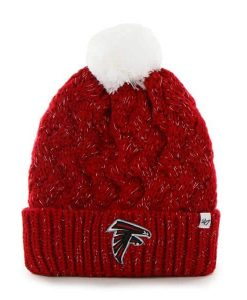 Atlanta Falcons Fiona Cuff Knit 47 Brand Womens Hat
