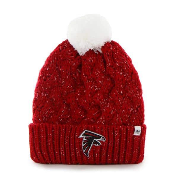 Atlanta Falcons Fiona Cuff Knit 47 Brand Womens Hat