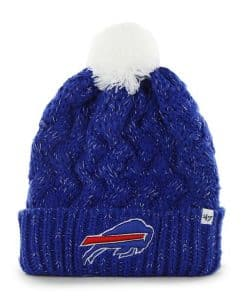 Buffalo Bills Women's 47 Brand Blue Fiona Cuff Knit Hat
