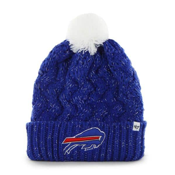 Buffalo Bills Fiona Cuff Knit Sonic Blue 47 Brand Womens Hat