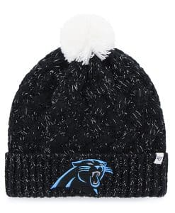 Carolina Panthers Fiona Cuff Knit Black 47 Brand Womens Hat