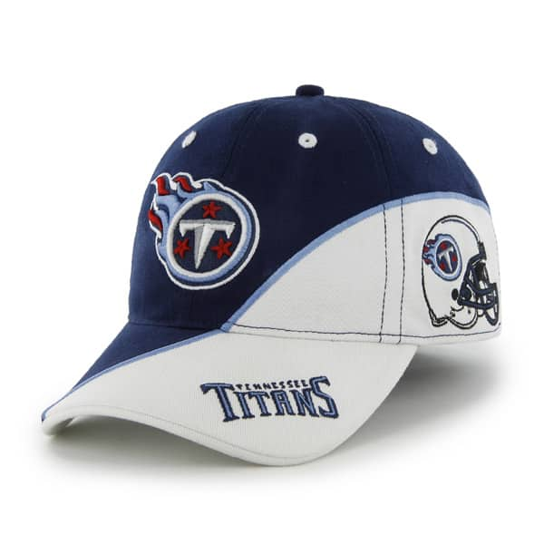 Tennessee Titans Full Block Light Navy 47 Brand Stretch Fit Hat