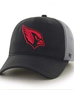 Arizona Cardinals Feldspar Closer Dark Gray 47 Brand Stretch Fit Hat