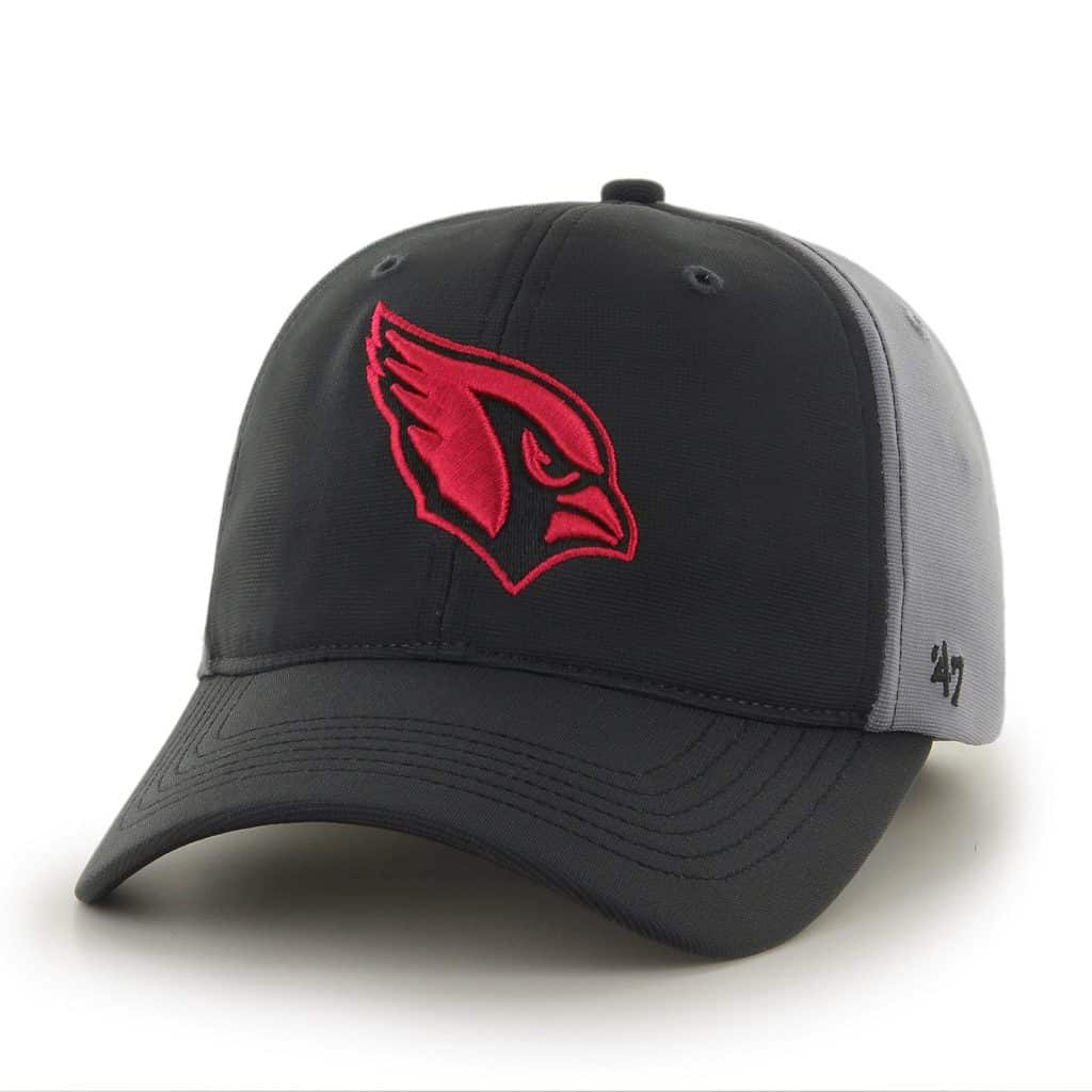 Arizona Cardinals Feldspar Closer Dark Gray 47 Brand Stretch Fit Hat