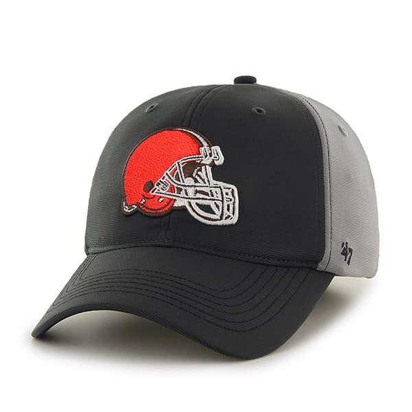 Cleveland Browns Feldspar Closer Dark Gray 47 Brand Stretch Fit Hat