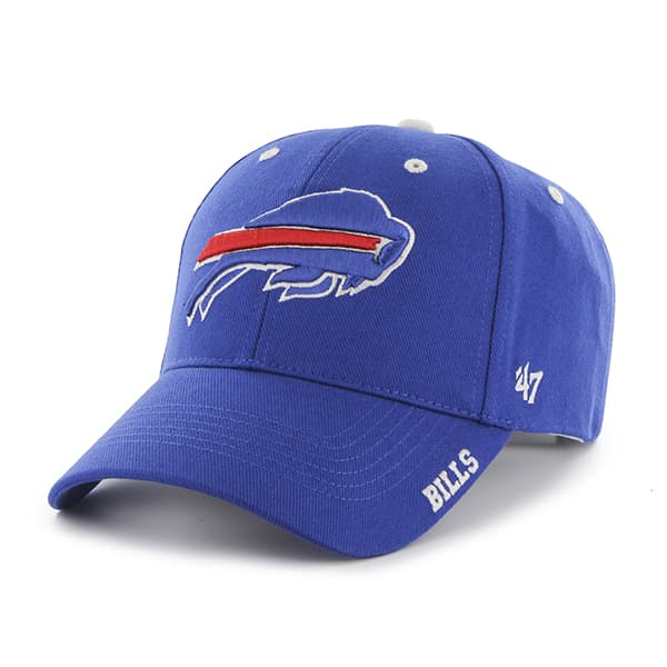 Buffalo Bills Frost Sonic Blue 47 Brand Adjustable Hat
