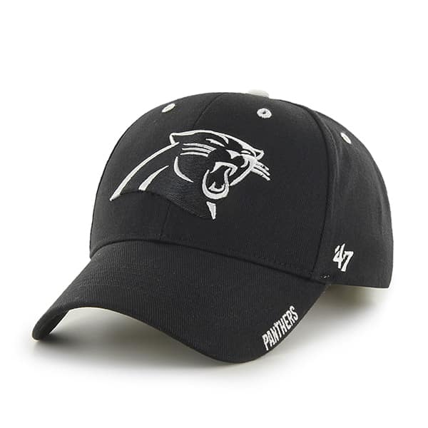 Carolina Panthers Frost Black 47 Brand Adjustable Hat