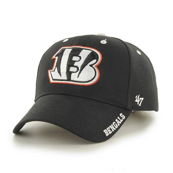 Cincinnati Bengals Frost Black 47 Brand Adjustable Hat