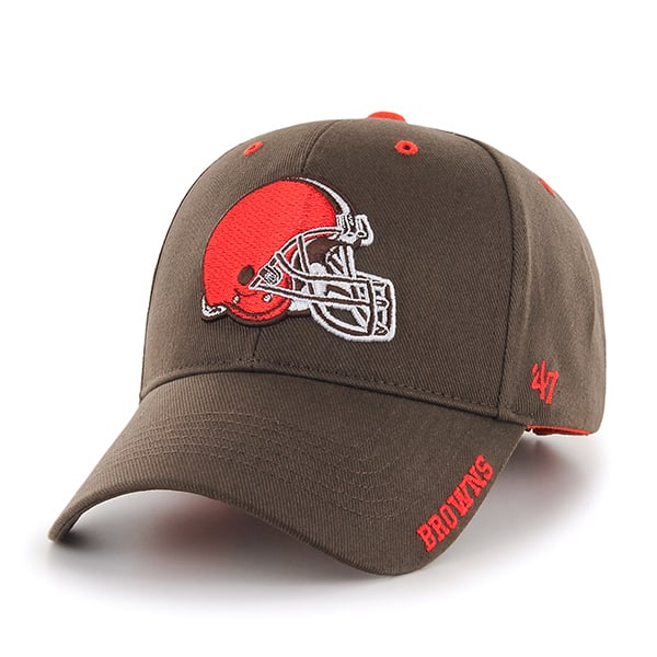 Cleveland Browns Frost Brown 47 Brand Adjustable Hat