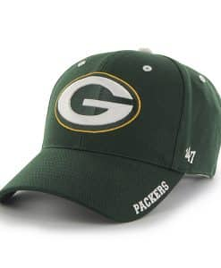 Green Bay Packers Frost Dark Green 47 Brand Adjustable Hat