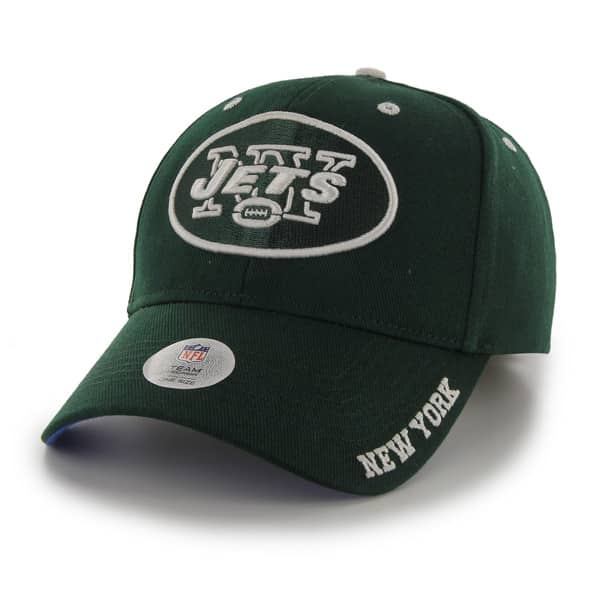 New York Jets Frost Dark Green 47 Brand Adjustable Hat