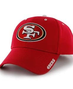 San Francisco 49ers Frost Red 47 Brand Adjustable Hat