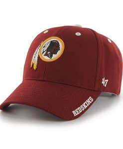 Washington Redskins Frost Razor Red 47 Brand Adjustable Hat