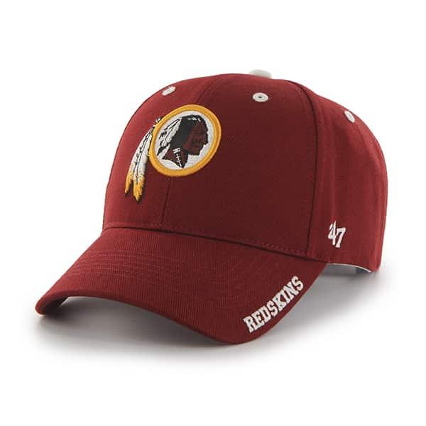 Washington Redskins Frost Razor Red 47 Brand Adjustable Hat