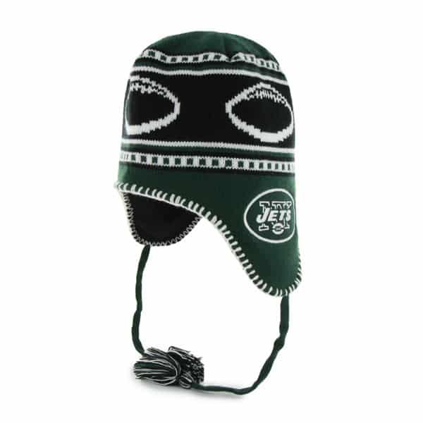 New York Jets Gameday Knit Dark Green 47 Brand Adjustable Hat