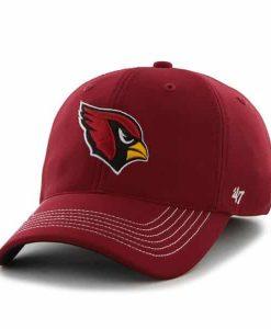 Arizona Cardinals Game Time Closer Dark Red 47 Brand Stretch Fit Hat