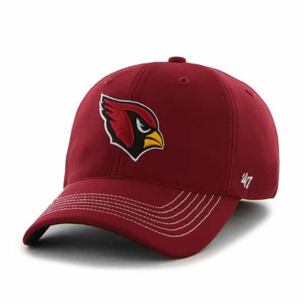 Arizona Cardinals Game Time Closer Dark Red 47 Brand Stretch Fit Hat