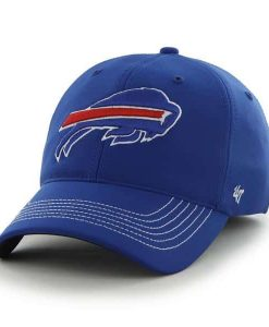 Buffalo Bills Game Time Closer Sonic Blue 47 Brand Stretch Fit Hat