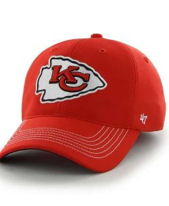 Kansas City Chiefs Game Time Closer Torch Red 47 Brand Stretch Fit Hat