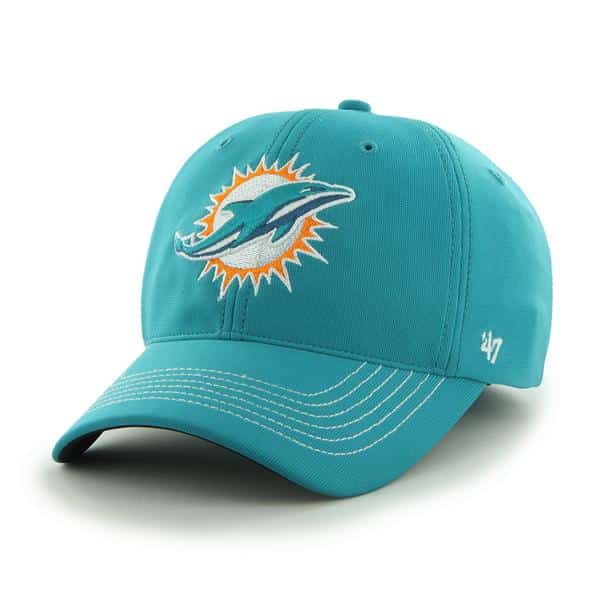 Miami Dolphins Game Time Closer Neptune 47 Brand Stretch Fit Hat