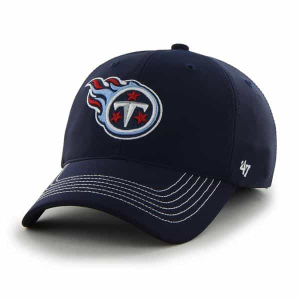 Tennessee Titans Game Time Closer Light Navy 47 Brand Stretch Fit Hat