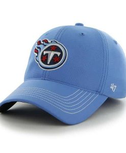 Tennessee Titans Game Time Closer Periwinkle 47 Brand Stretch Fit Hat