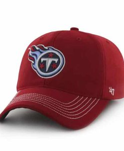 Tennessee Titans Game Time Closer Red 47 Brand Stretch Fit Hat