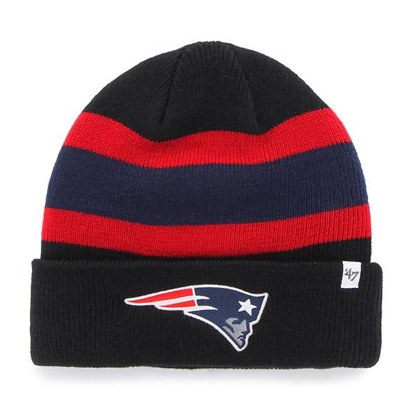 b30f9f612 New England Patriots Goal Line Black 47 Brand Adjustable Hat
