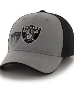 Oakland Raiders Hitch Black 47 Brand KID Hat