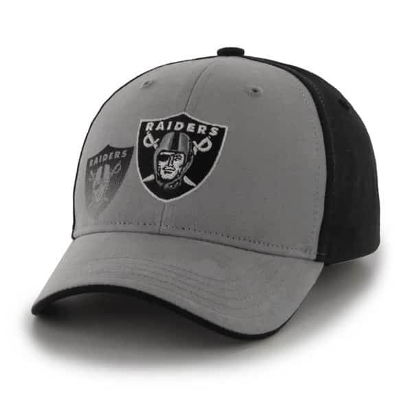 6c30778e Oakland Raiders Hitch Black 47 Brand KID Hat