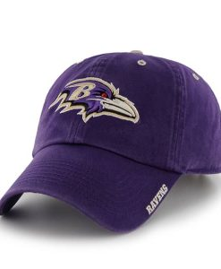 Baltimore Ravens Ice Purple 47 Brand Adjustable Hat