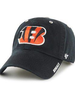 Cincinnati Bengals Ice Black 47 Brand Adjustable Hat