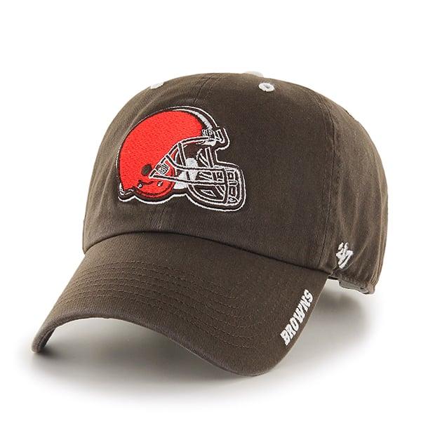 Cleveland Browns Ice Brown 47 Brand Adjustable Hat