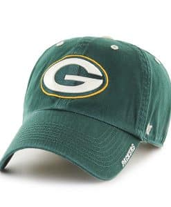 Green Bay Packers Ice Dark Green 47 Brand Adjustable Hat
