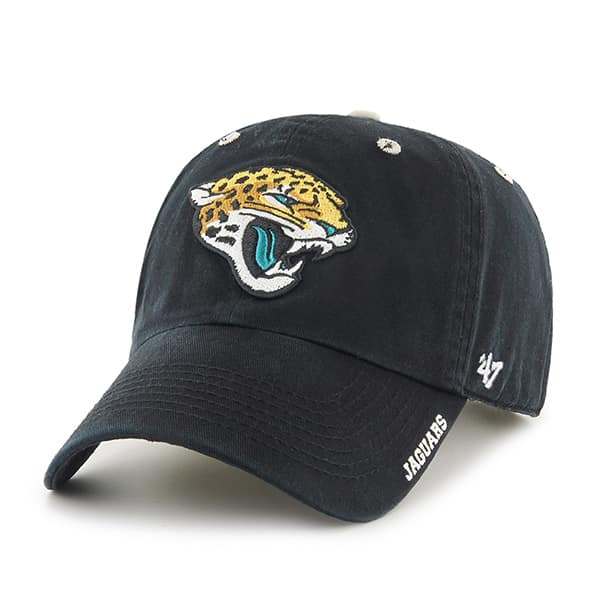 Jacksonville Jaguars Ice Black 47 Brand Adjustable Hat