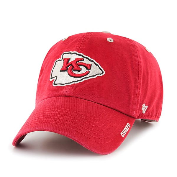 Kansas City Chiefs Ice Red 47 Brand Adjustable Hat