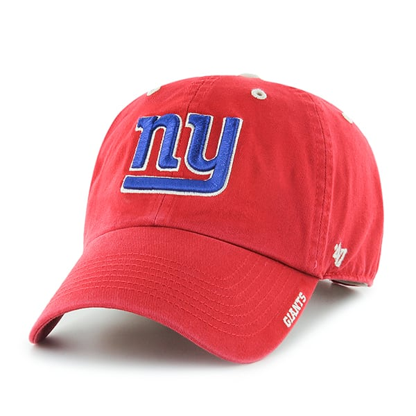 New York Giants Ice Red 47 Brand Adjustable Hat